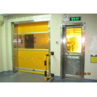 China Industrial 304 Stainless Steel High Speed PVC Rolling Door Internal / External Area on sale