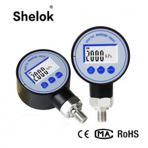 China 60mm Digital Pressure Gauge Manometer/Digital Air Pressure Gauge wholesale