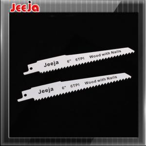 China Bi-metal Bosch S922EF 150mm 6 Reciprocating Saw Blades for plywood / plastics wholesale