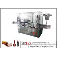 China 8 Head Syrup Automatic Filling And Capping Machine For Pharmaceutical Production Line wholesale