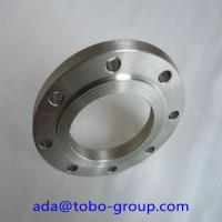 China Forged Super Duplex 2507 Stainless Steel Flanges , Inconel718 07Cr19Ni1 SHH304H BL flange wholesale