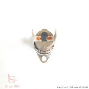 China KSD301 Manual Reset Thermostat PPS Case Fixed Bracket For Calorifier wholesale
