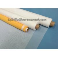 Quality Low Elongation 100T Screen Printing Mesh Material 250 Mesh Count 0.1m - 3.7m Width for sale
