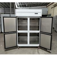 China 0 ~ 10°C - 18°C ~ -20°C Kitchen Commercial Refrigerator Freezer With Danfoss Compressor wholesale