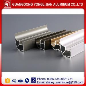 China Aluminum extrusion profile for closet door wardrobe door to Russia wholesale