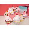 China Stuffed Animal Plush Toys / Rabbit Soft Toy 40 48cm Size For Decoration wholesale