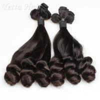 China Real Indian Funmi Virgin Hair , Remy Human Hair Weave For Black Women wholesale