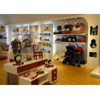 China Store Display Furniture / Children'S Store Fixtures Decorate With LED Strip Light wholesale