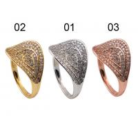 China Wholesale 925 Sterling Silver Jewellery  - Thumb Ring With Silver / Gold / Rose Gold Colors wholesale