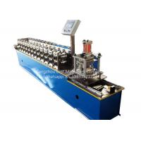 China Garage Rolling Shutter Door Frame Roll Forming Machine 1.0'' Chain Driven Type wholesale