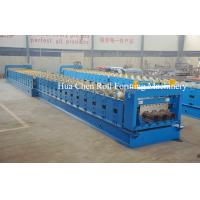 China Huachen Decking floor production roll forming line /high quality deck floor machine wholesale