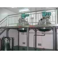 China 600L Softgel Gelatin Melting Tank With Vacuum Design / Stirring Function with Platform and weight wholesale
