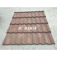 China Aluminium - Zinc Material 0.4mm Thickness Colorful Stone Coated Metal Roofing Tiles wholesale