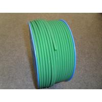 China Green PU Polyurethane Round Belt anti static with 3mm - 8mm Textile wholesale