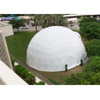 China UV Resistant Large Geodesic Dome Tent with PVC Cover For Events wholesale