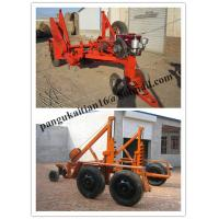 Quality cable drum carriage, cable drum table,cable drum trailer, Drum Trailer for sale
