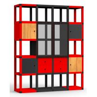Buy cheap Pretty Corrugated Cardboard Storage Racks Shelves Recoverable from wholesalers