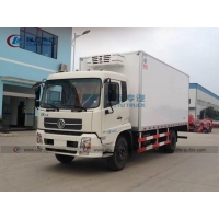 China Dongfeng 4X2 Refrigerated Cargo Truck For Seafood wholesale