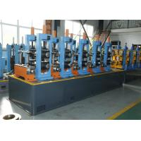 China HF Welded ERW Pipe Mill Carbon Steel Erw Tube Mill With Friction Saw Cutting wholesale