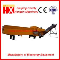 China waste wood board crusher machine with nail separator and dust collector high capacity good output quality wholesale