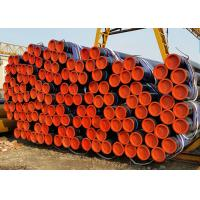 China Seamless Honed Tube For Hydraulic Cylinder , Round Seamless Welded Pipe wholesale