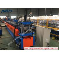 China Strut Channel Roll Forming Machine , Metal Stud Furring Channel Roll Forming Machine on sale