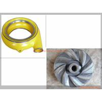 China High Abrasive Slurry Pump Spare Part Horizontal Type Wear Resistant Material wholesale