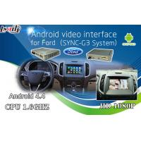 Buy cheap Android 6.0 GPS navigation video interface for Ford SYNC 3 with Google play store/wifi/ Mirrorlink from wholesalers