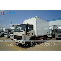 Buy cheap Sinotruk HOWO 5 Ton Small Refrigerator Truck Refrigerated Insulated Van Box from wholesalers