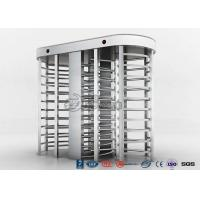 Quality Full High Access Control Turnstile Dual Passage RS485 Communications Interface for sale