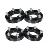 China 1.25 (32mm) Wheel Adapters | 5x127 to 5x115 Black Spacers with 12x1.5 Studs on sale