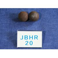 Quality Custom Low Carbon Hot Rolled Steel Balls / Steel Grinding Ball Hight Hardness for sale