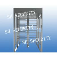 China Automatic stainless steel full height pedestrian turnstile wholesale