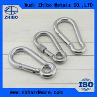 Quality with no screw,stainless steel AISI304 or 316 DIN5299 stainless steel snap hook for sale