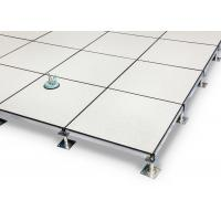 Buy cheap PVC Covering 600*600mm All Steel Anti-Static Raised Flooring from wholesalers
