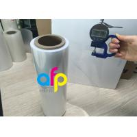 China Half Sleeve Polyolefin Shrink Wrap Roll , Single Would Pof Plastic Film wholesale