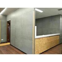 China Water Resistant  Fiber Cement Stone Panels , 15 Mm Cement Board For Exterior Walls on sale