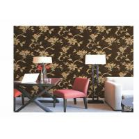 Buy cheap Home Decoration PVC Embossed Wallpaper Waterproof With European Flower from wholesalers