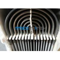 China Stainless Steel Heat Exchanger Tubing TP316 / 316L , U Bend Size 25.4mm For Fuild wholesale