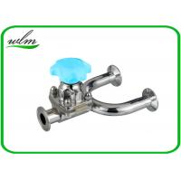 China 1.4435 / 316L Stainless Steel Diaphragm Valve Hygienic Grade , U Shaped wholesale