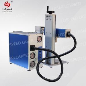 China 30W 50W Fiber Laser Marking Machine Engraver Marker Pistol and Metal wholesale