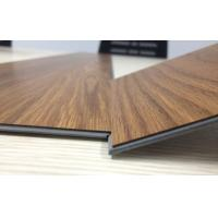China anti-bacterial wear resistant uv coating embossed PVC click vinyl flooring planks wholesale