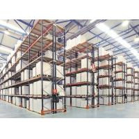 China Logistic equipment heavy duty storage double deep pallet racks wholesale