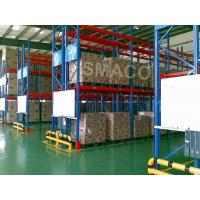 High Density OEM Warehouse Pallet Racking System Versatile / Customized Industrial Storage Rack Systems