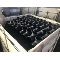 China 1/2 inch to 42 inch sch40 API 5L X42 X65 X70 carbon steel seamless butt welding equal tee ansi b16.9 /A234 WPB equal tee wholesale