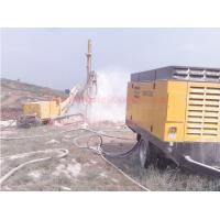 China Double Flighted Diesel Engine Air Compressor , Mining Drilling Screw Air Compressor wholesale