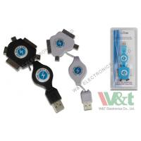 China Hi-Speed USB 2.0 A To A USB Data Transfer Cable Direct / Retractable Cable wholesale