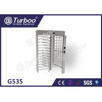 China Full Height Turnstile Gate Stainless Steel Turnstiles Access Control System wholesale