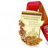 Buy cheap 3D Marathon Finisher Enamel Custom Running Medals from wholesalers