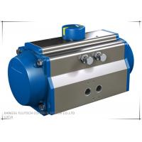 China Extruded aluminum Rotary quarter-turn Rack And Pinion Pneumatic Actuator wholesale